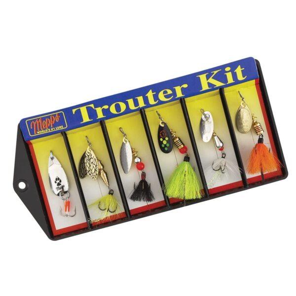 Mepps Dressed Lure Assortment Trouter Kit, Multicolor